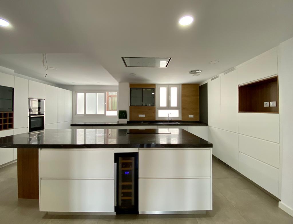 Reforma integral en piso de 180 m2 en Nervión