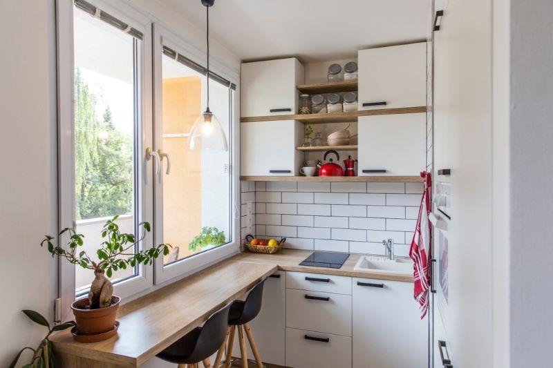 cómo distribuir una cocina pequeña