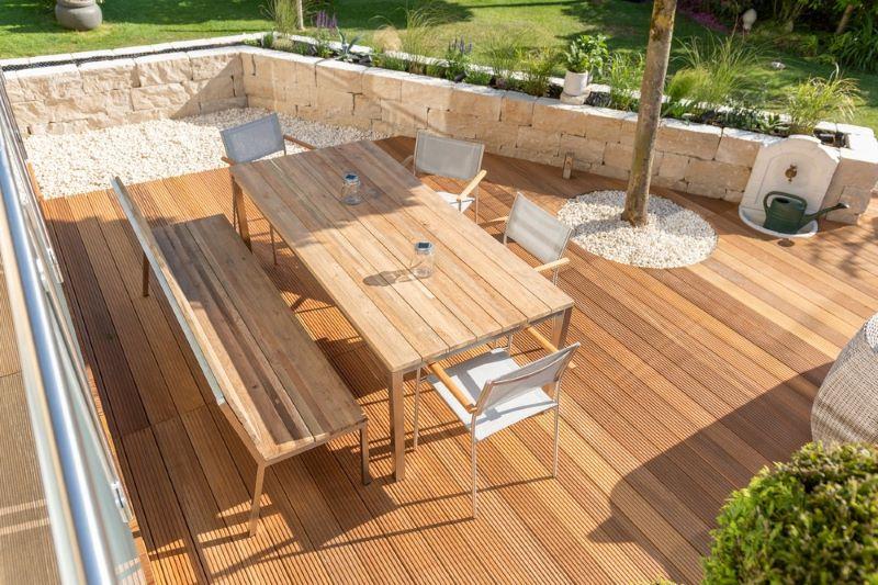suelo de madera para terrazas