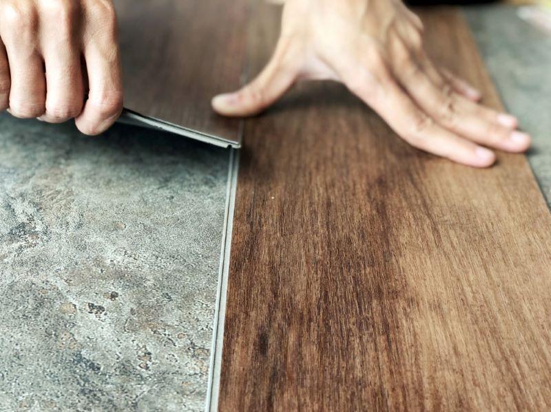 Instalación de losetas y suelos de vinilo